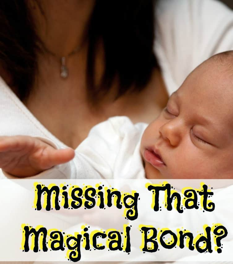 Missing that magical bond in pregnancy or after birth?