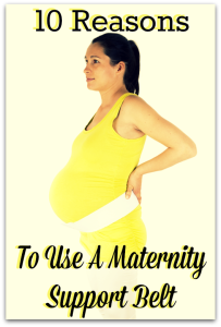 10 Reasons To Use A Maternity Belt