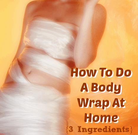 3 Ingredien DIY Postpartum Body/Belly Wrap