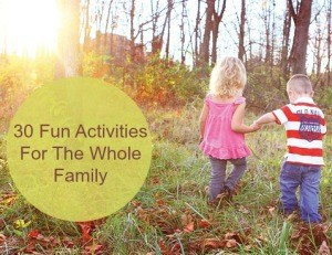 30 Fun Outdoor Activities For The Whole Family